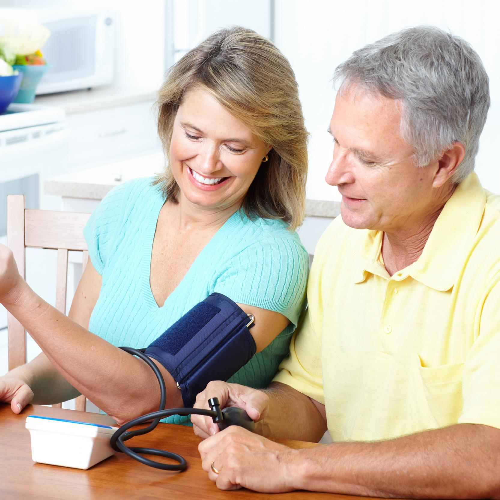 banner of Blood Pressure Monitors Let You Keep Track At Home