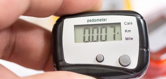 thumbnail of Meet Your Fitness Goals Using a Pedometer